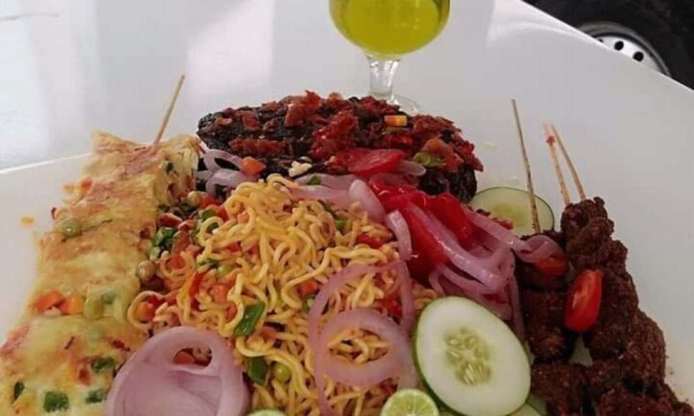 The spectacular recipe of stir fry noodles